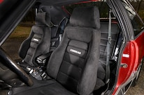 029 Corbeau Gtsii Seat Front Back Cover Mustang