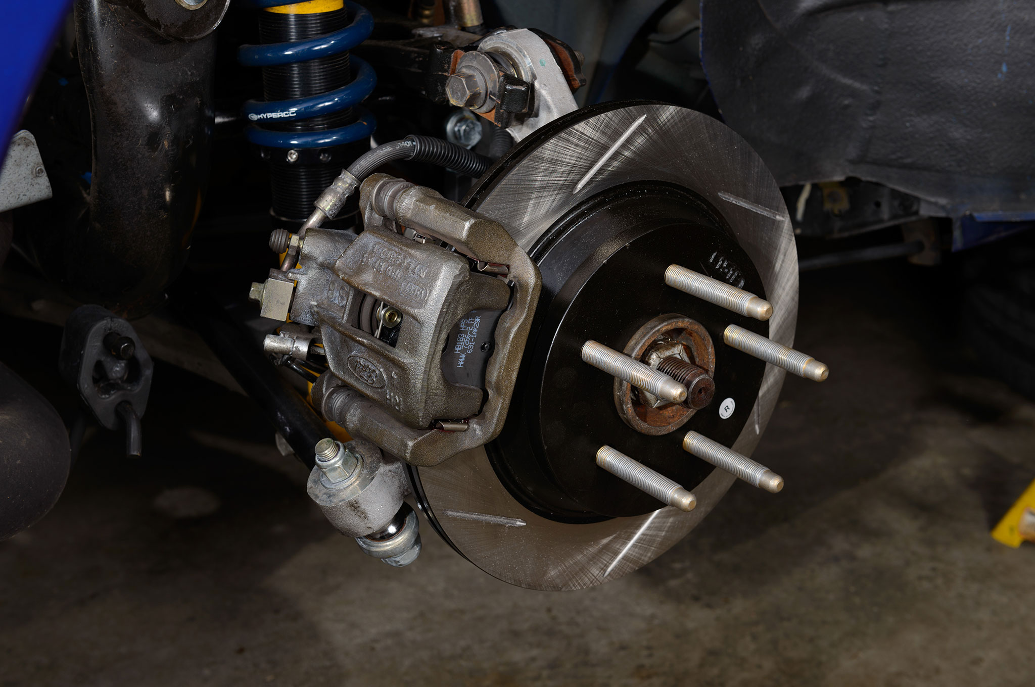 13 2003 Ford Mustang Cobra Finished Rear Brakes