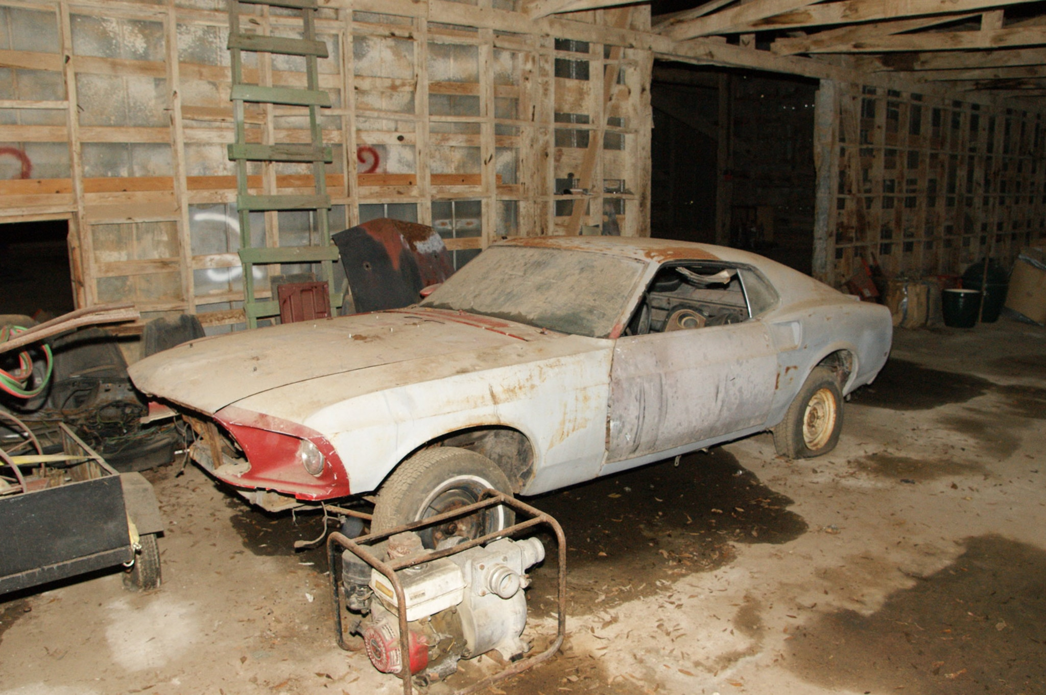 Rare Field Finds Fords Mustangs Trucks Parts 35