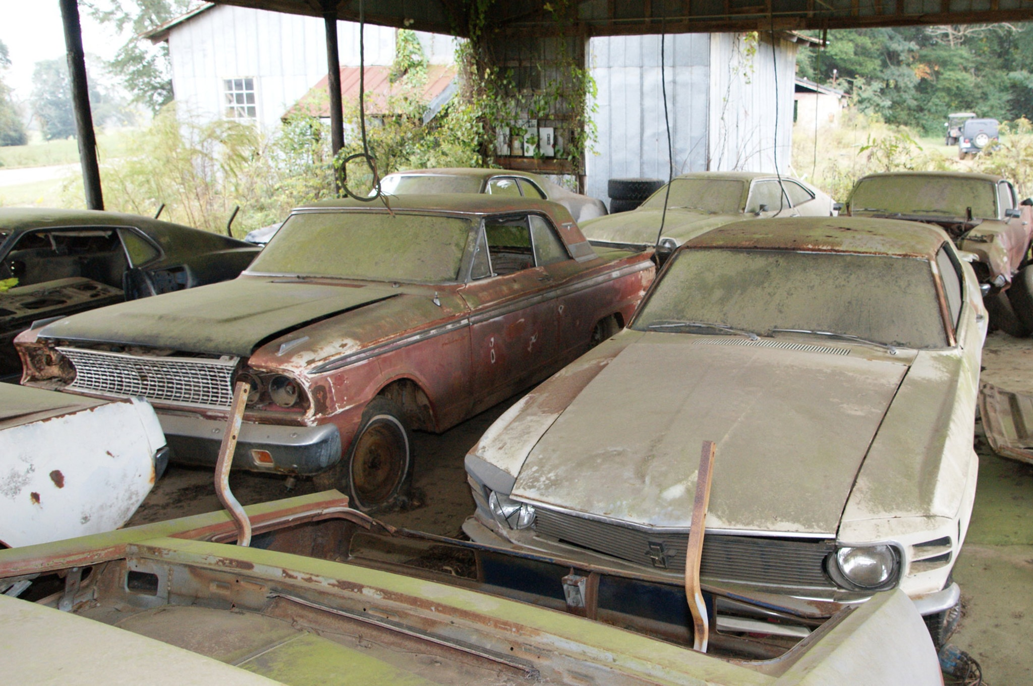 Rare Field Finds Fords Mustangs Trucks Parts 26