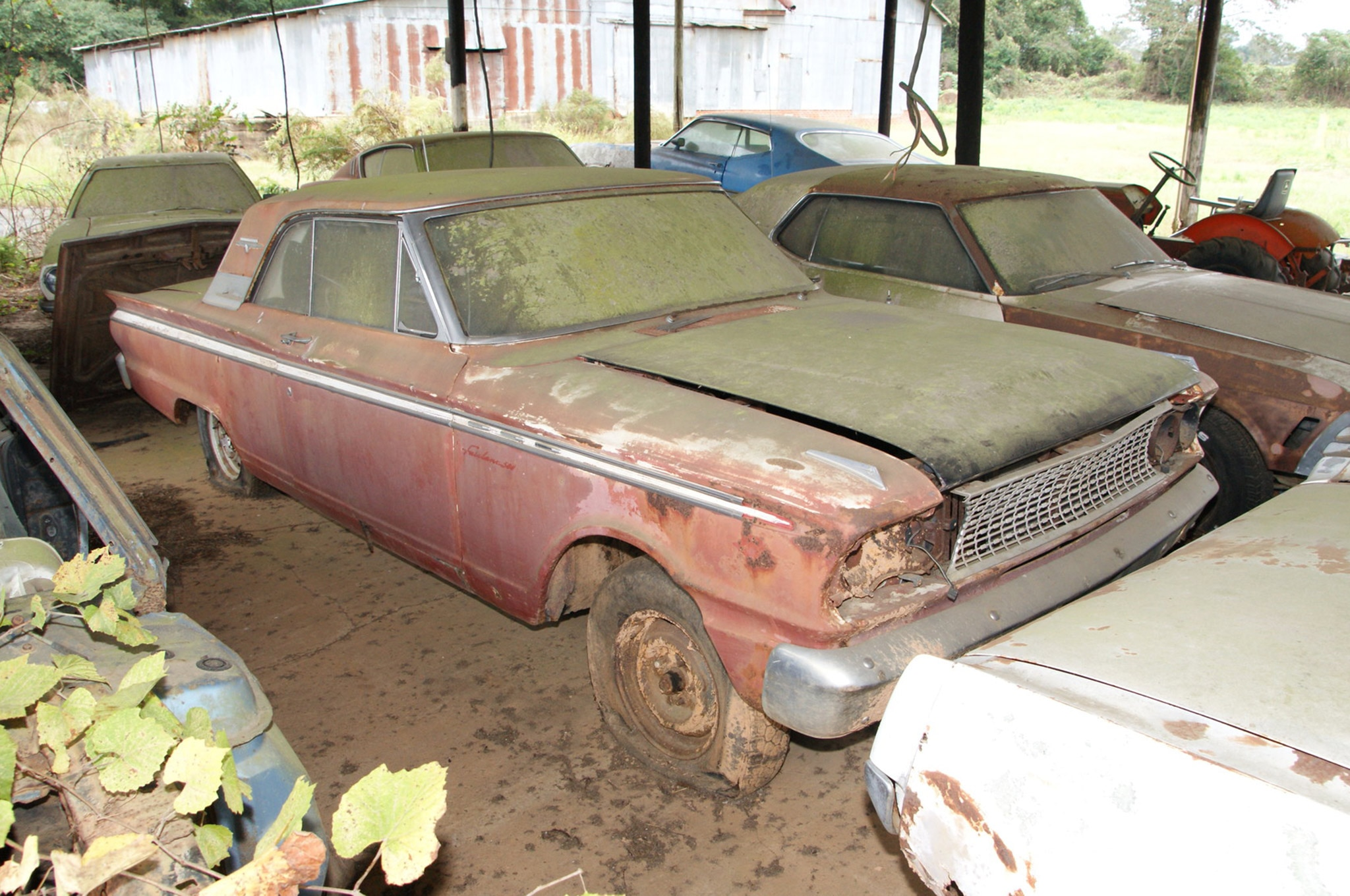 Rare Field Finds Fords Mustangs Trucks Parts 24