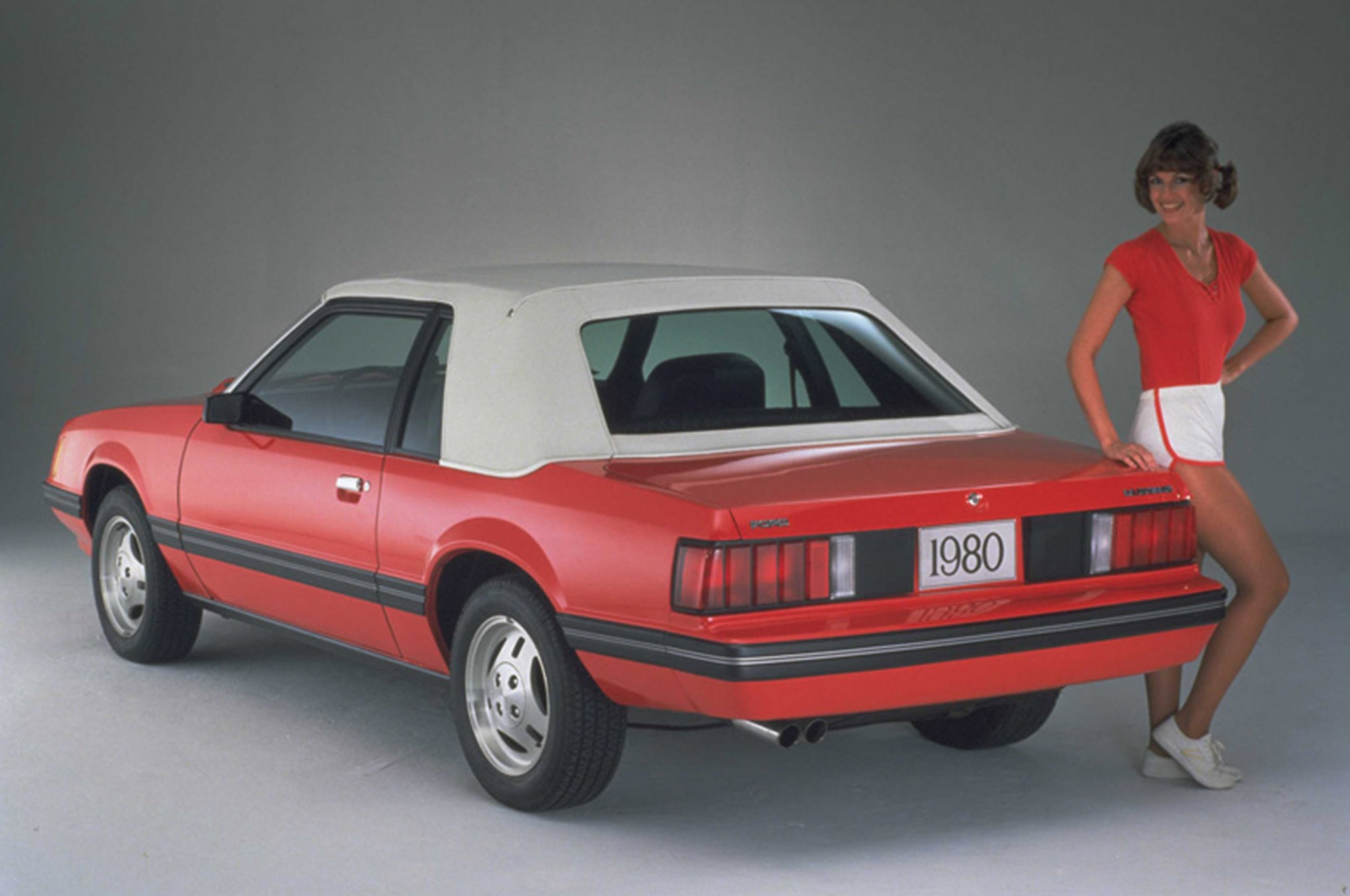 000 1980 Ford Mustang Smog Exempt