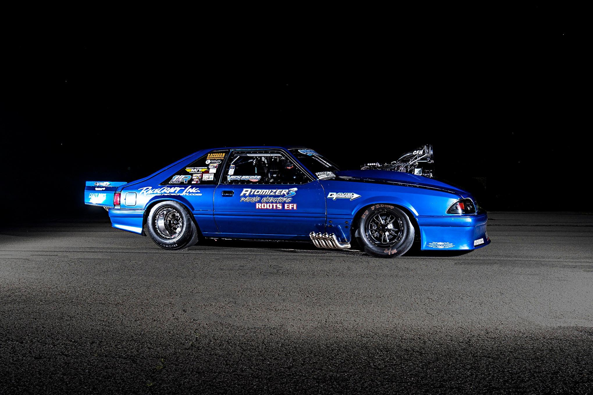 007 Bruder Fox Mustang