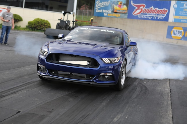Lund Racing 2015 Mustang GT Lead