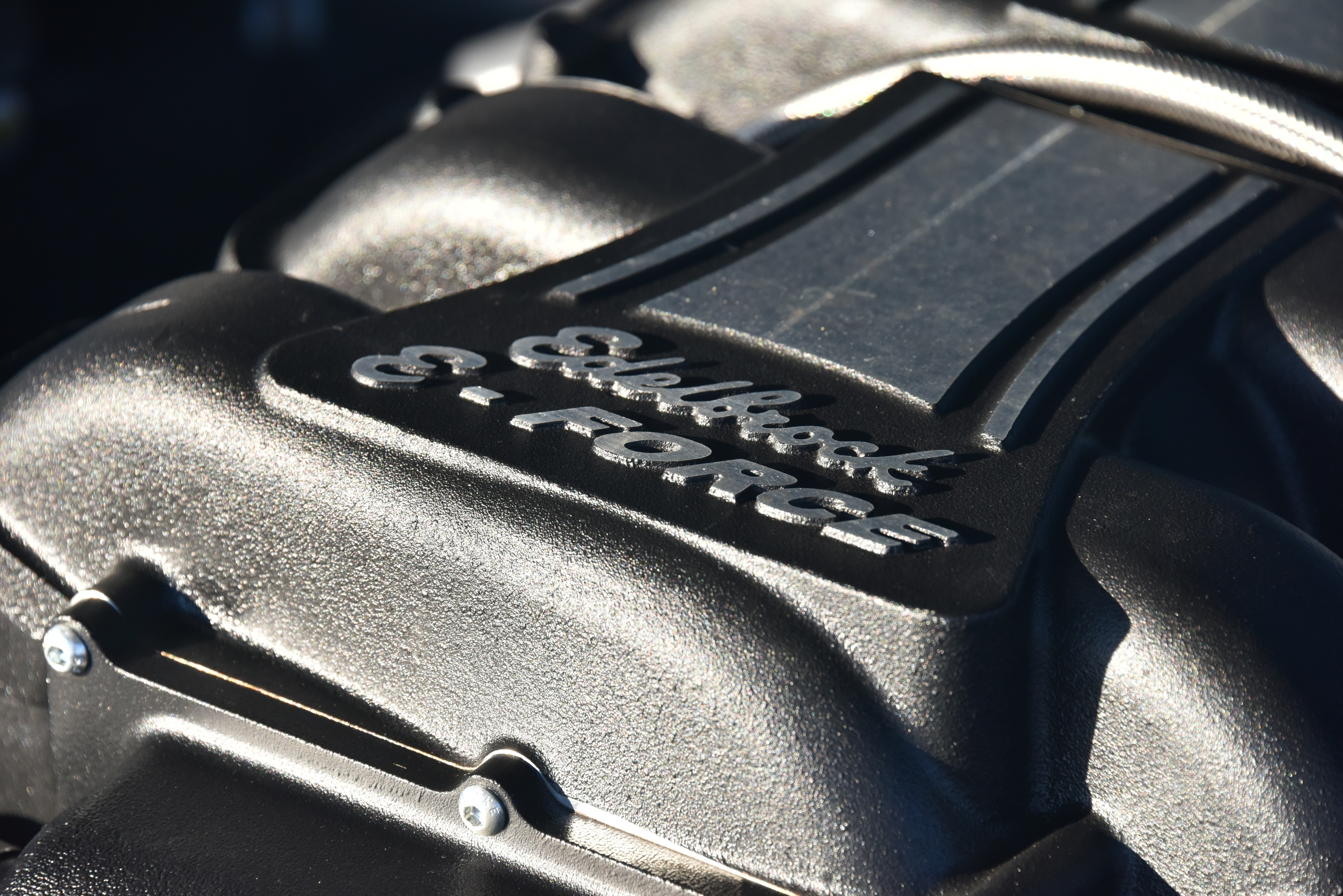4 1965 Ford Mustang E Force Supercharger