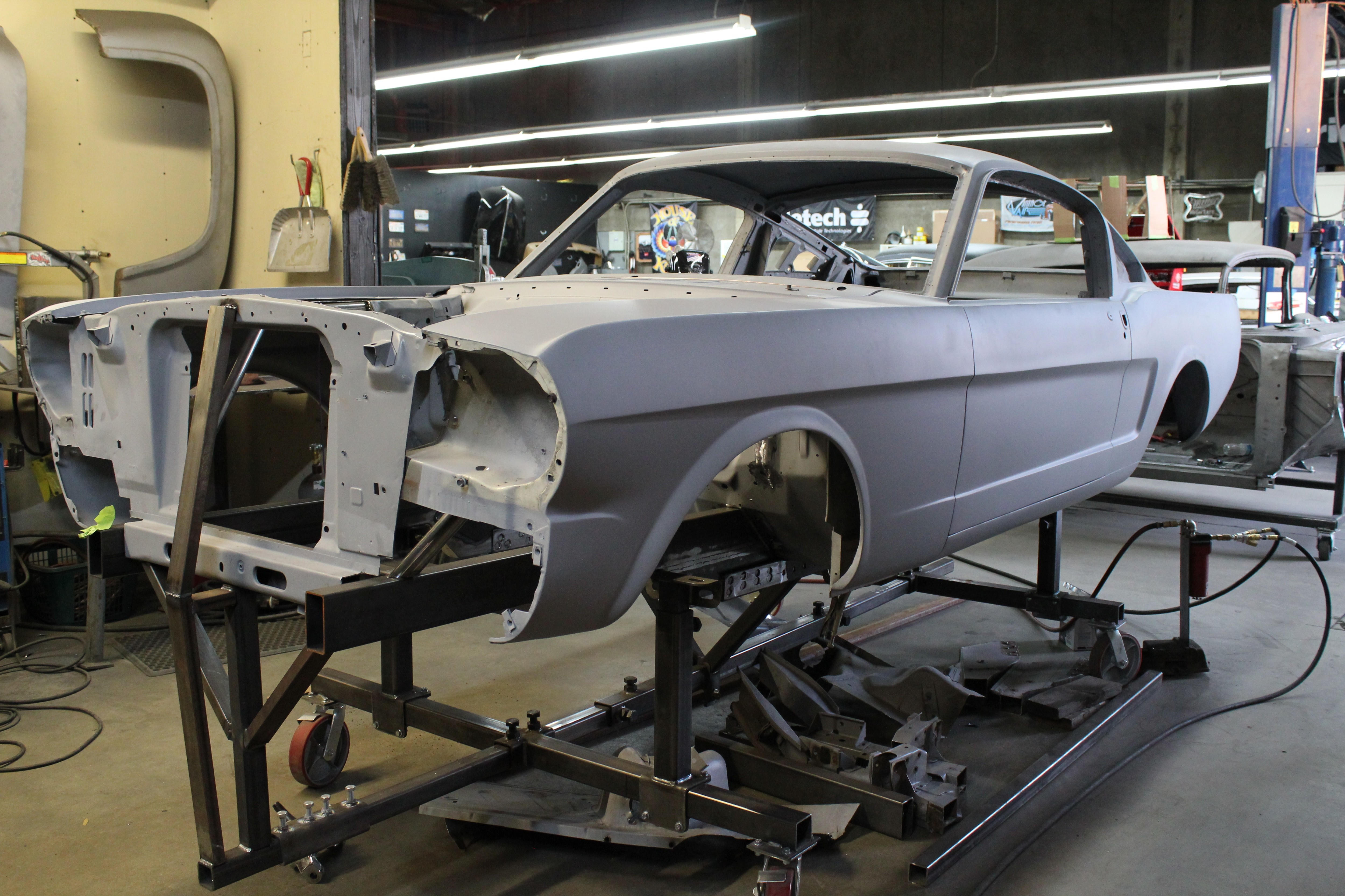11 1965 Ford Mustang Frame