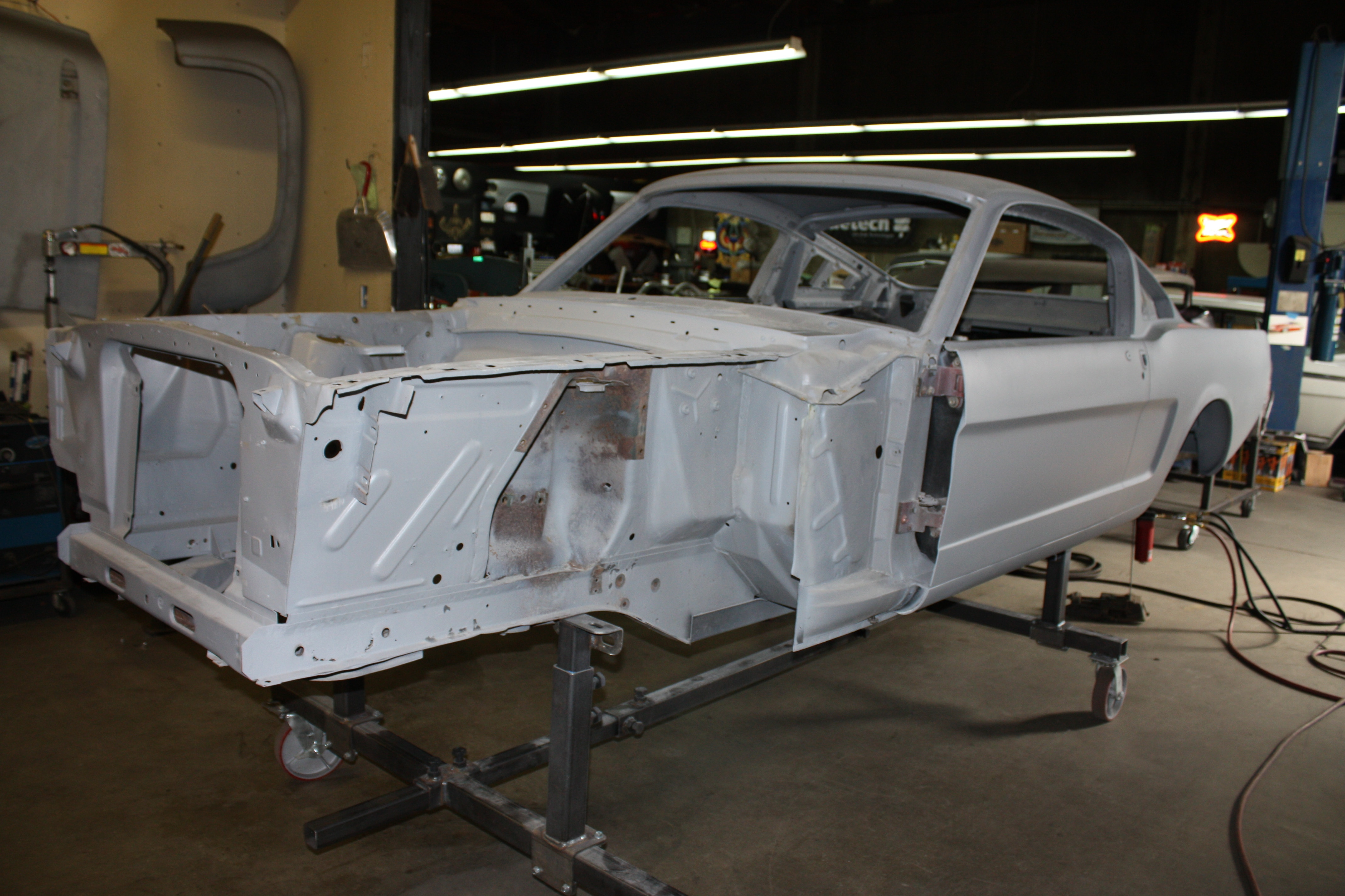 17 1965 Ford Mustang Frame