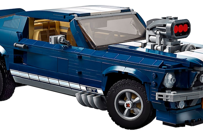 001 LEGO Creator 1967 Mustang Kit