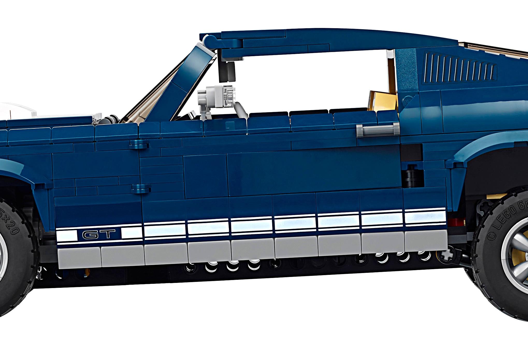 Lego Creator 1967 Mustang Kit Back 07