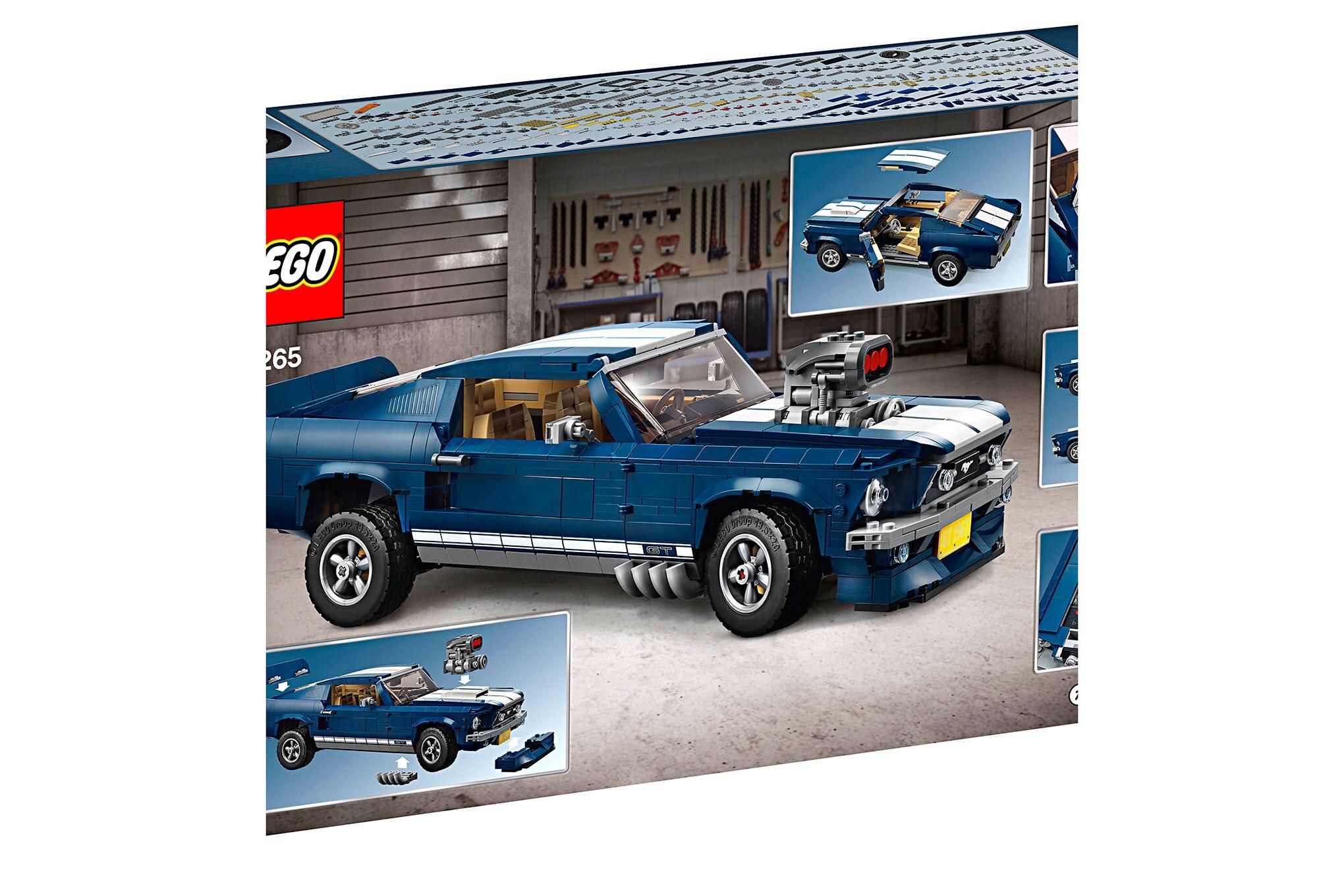 Lego Creator 1967 Mustang Kit Box5 V39