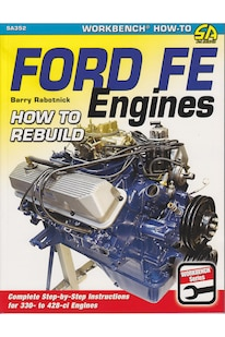 Book Review Ford FE Engines Cover