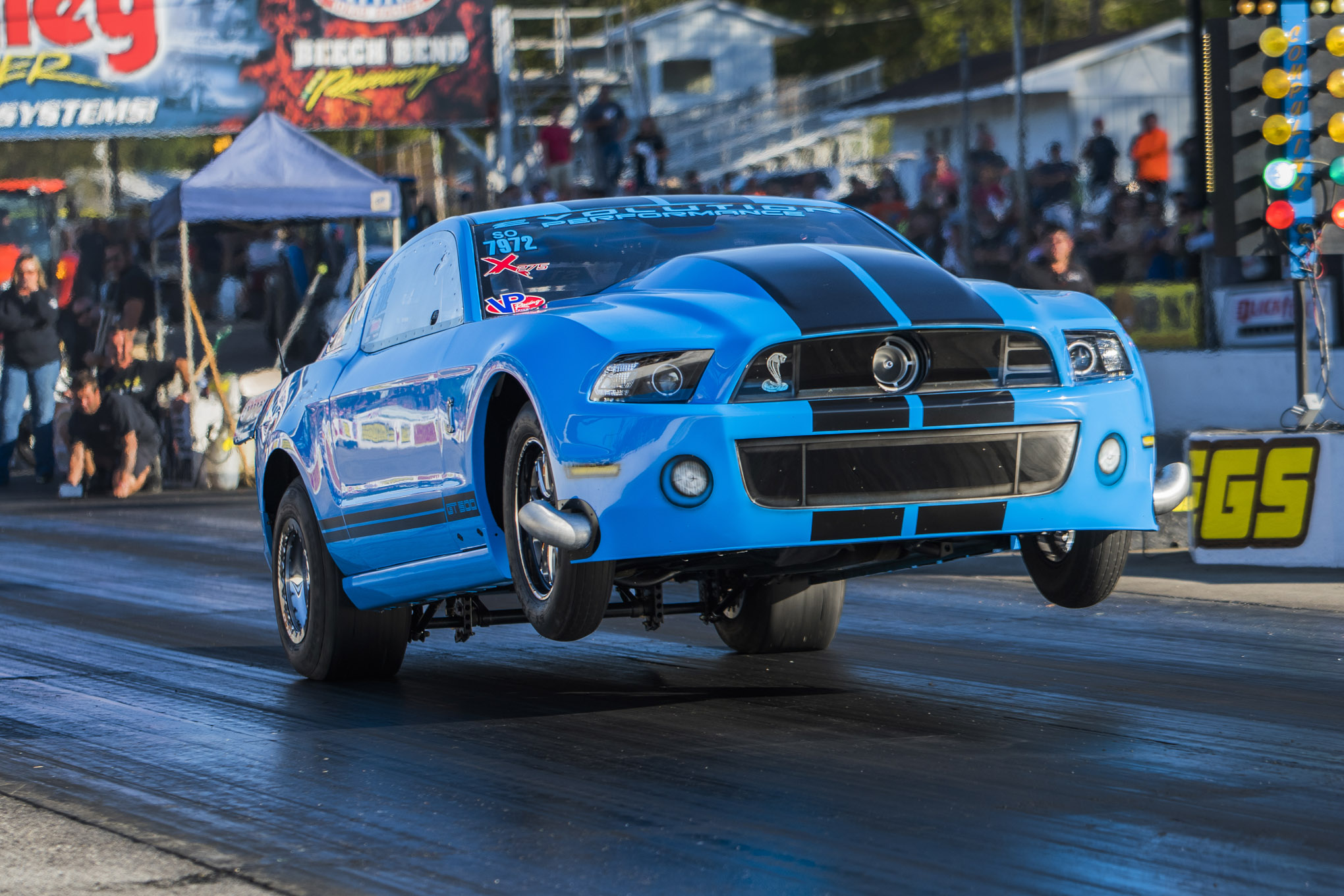 2013 Shelby GT500 Brian Devilbiss Lead