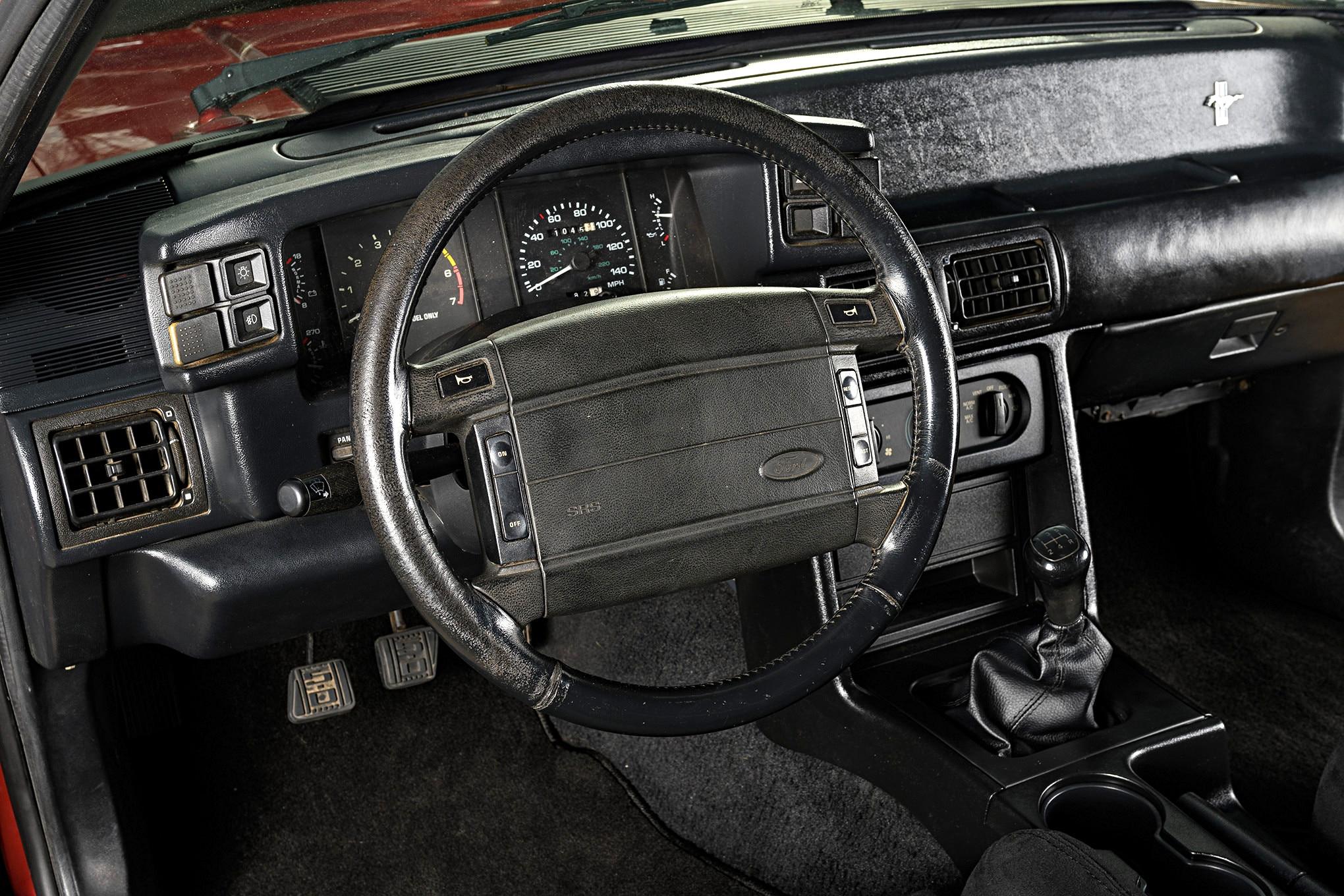 002 Mustang Steering Wheel Worn Out