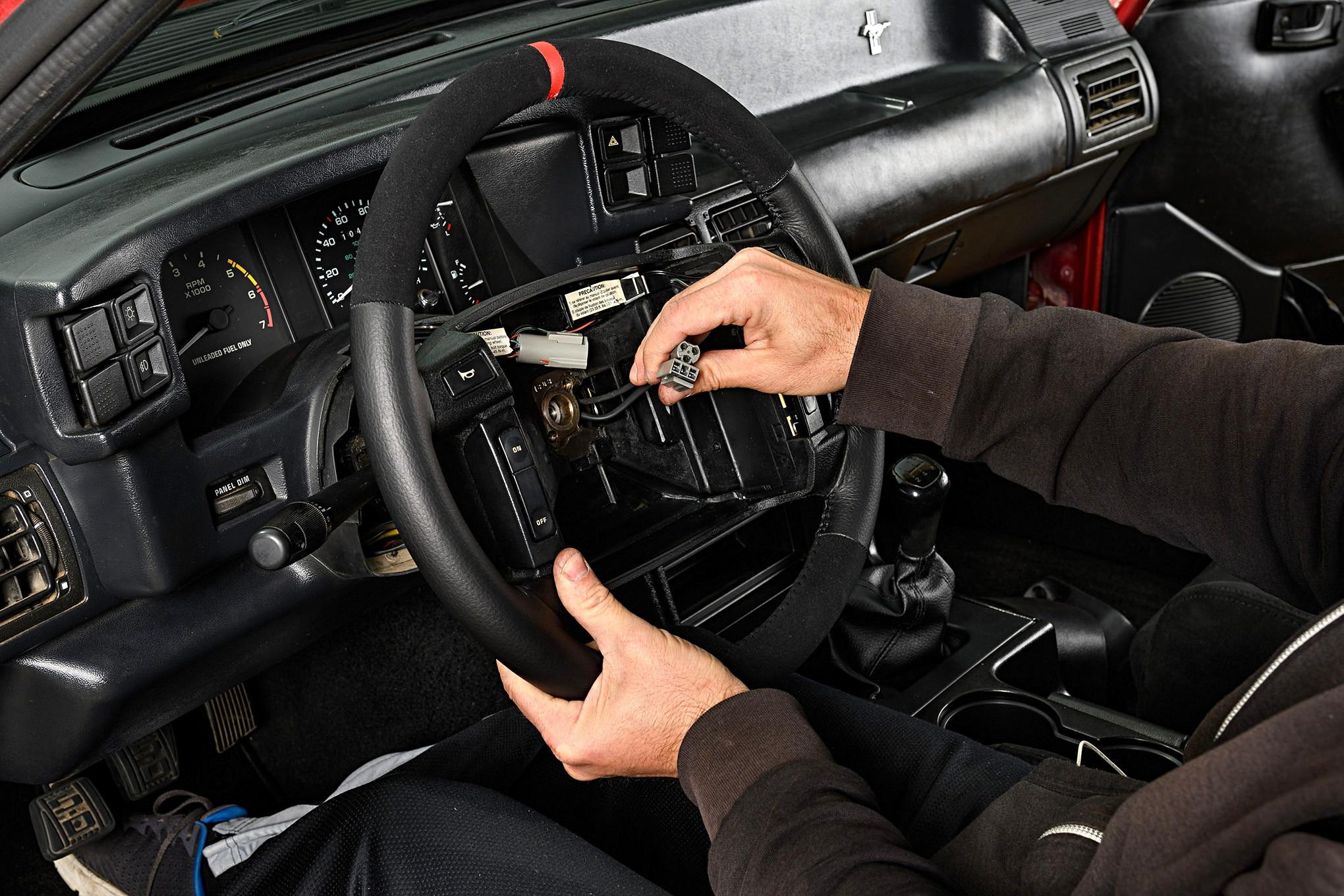 023 Mustang Steering Wheel Sve Fr350 Installation