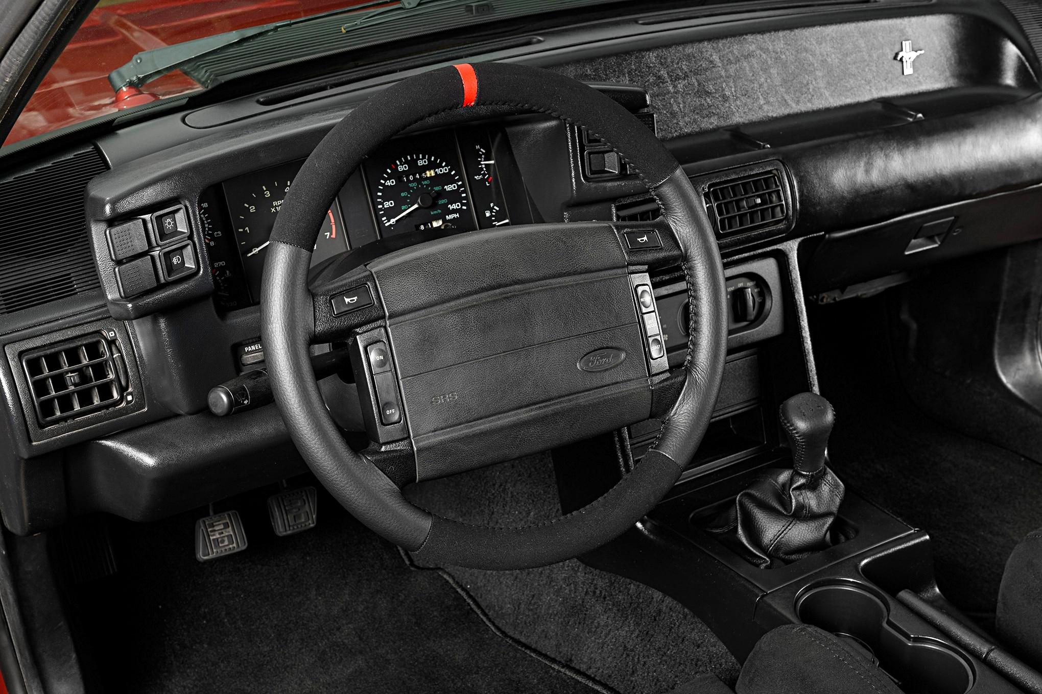 027 Mustang Steering Wheel Sve Fr350 Shift Knob
