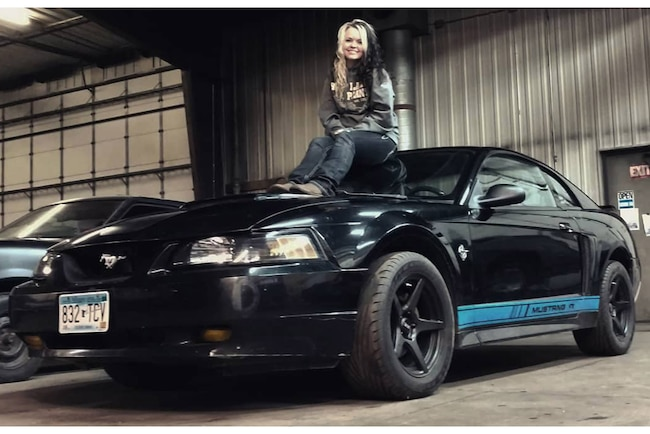 Mustang Girl Monday Mckenzie Lead