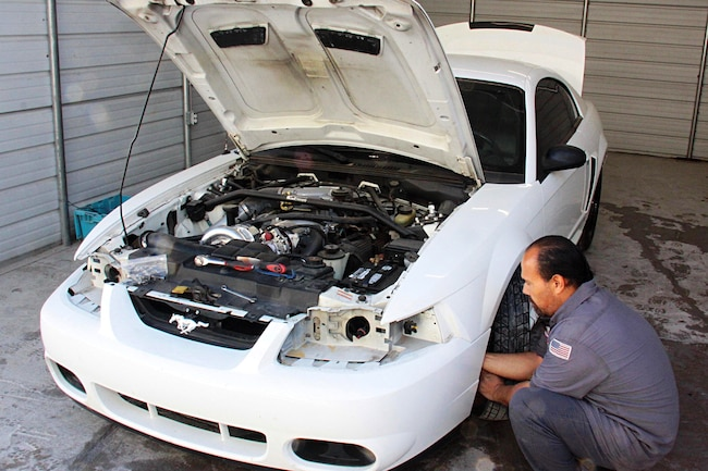 001 1999 Mustang Gt Paint Preparation Axalta Fitment