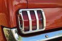 09 1965 Mustang Scott Drake Sidewinder Taillight Bezel Installed