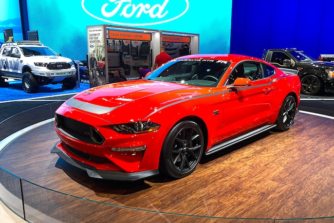 001 2018 SEMA Ford Booth