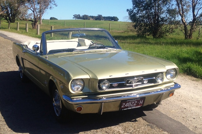 1 1965 Ford Mustang Convertible