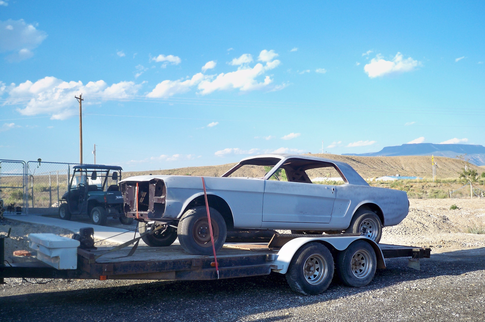 5 1966 Ford Mustang Tow