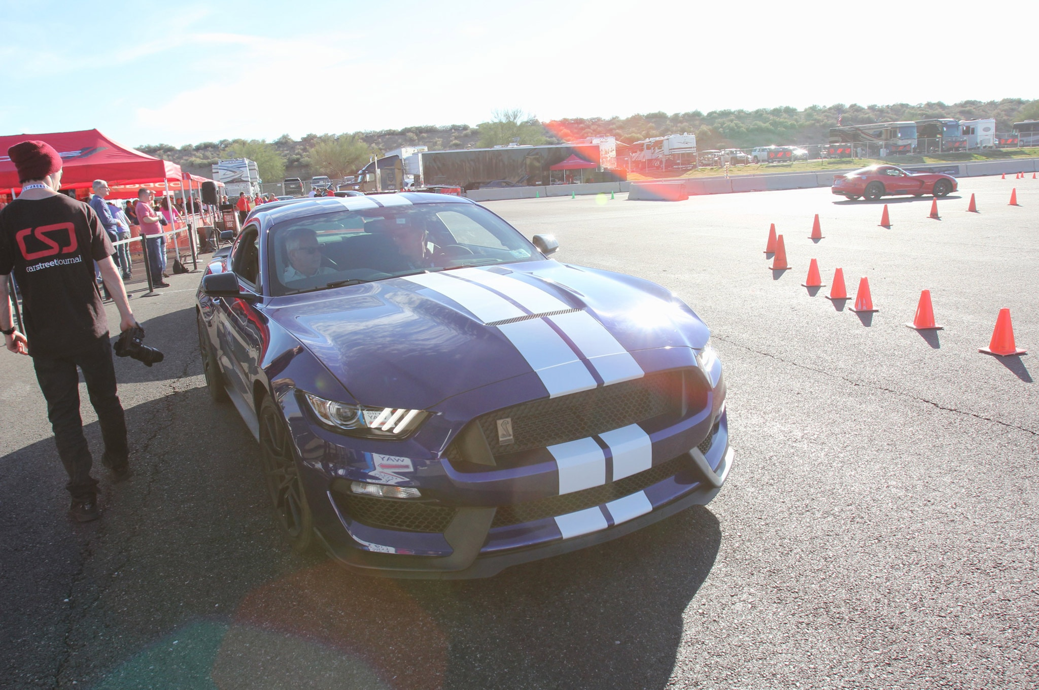 Ford Drive Along Shelby Gt350 Barrett Jackson 15