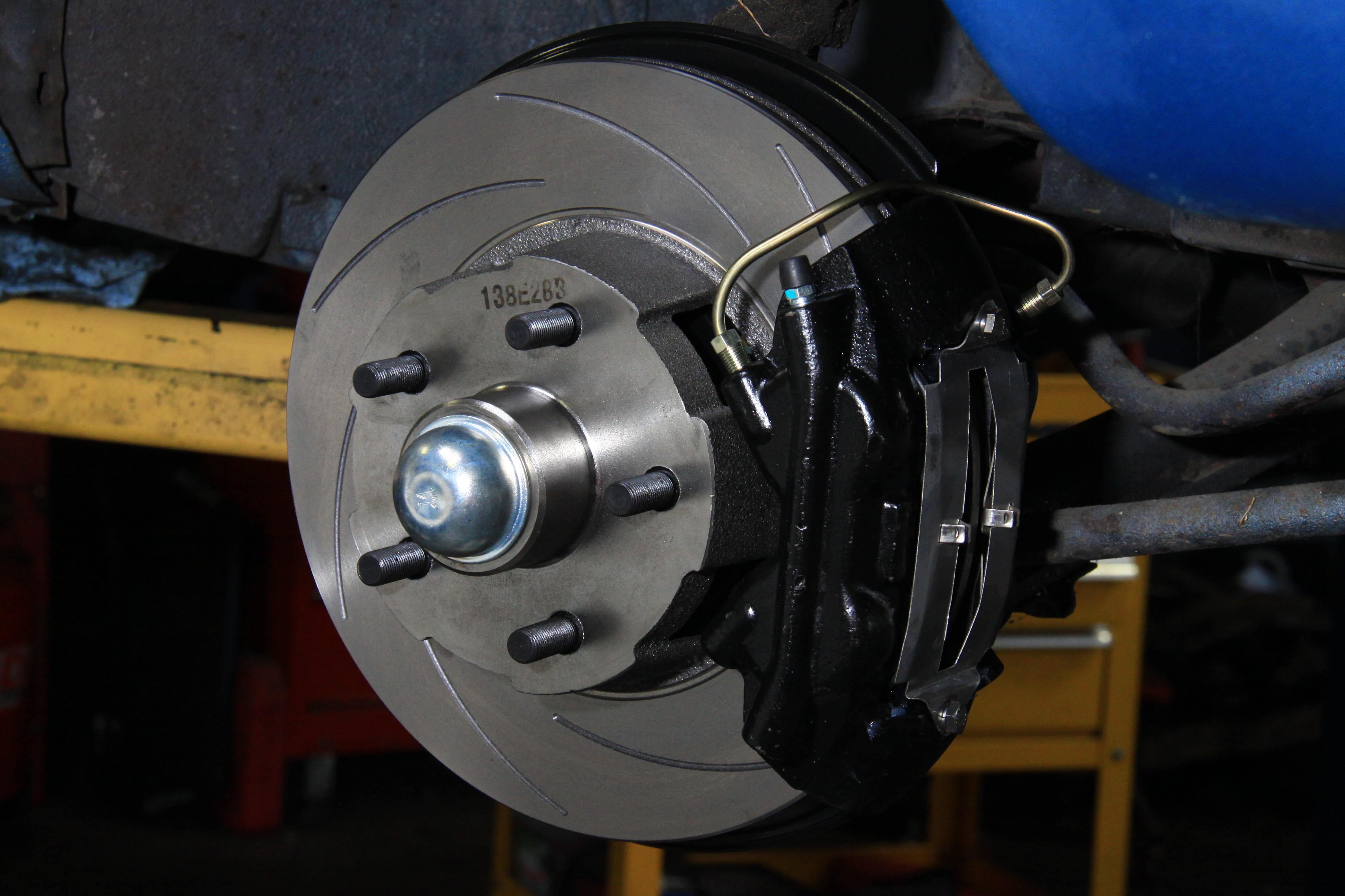22 Four Piston Retro Style Disc Brake Upgrade