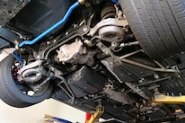 003 Mustang Rear Suspension Exhaust Removed