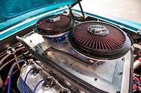 6 1969 Ford Mustang Hood Hinges