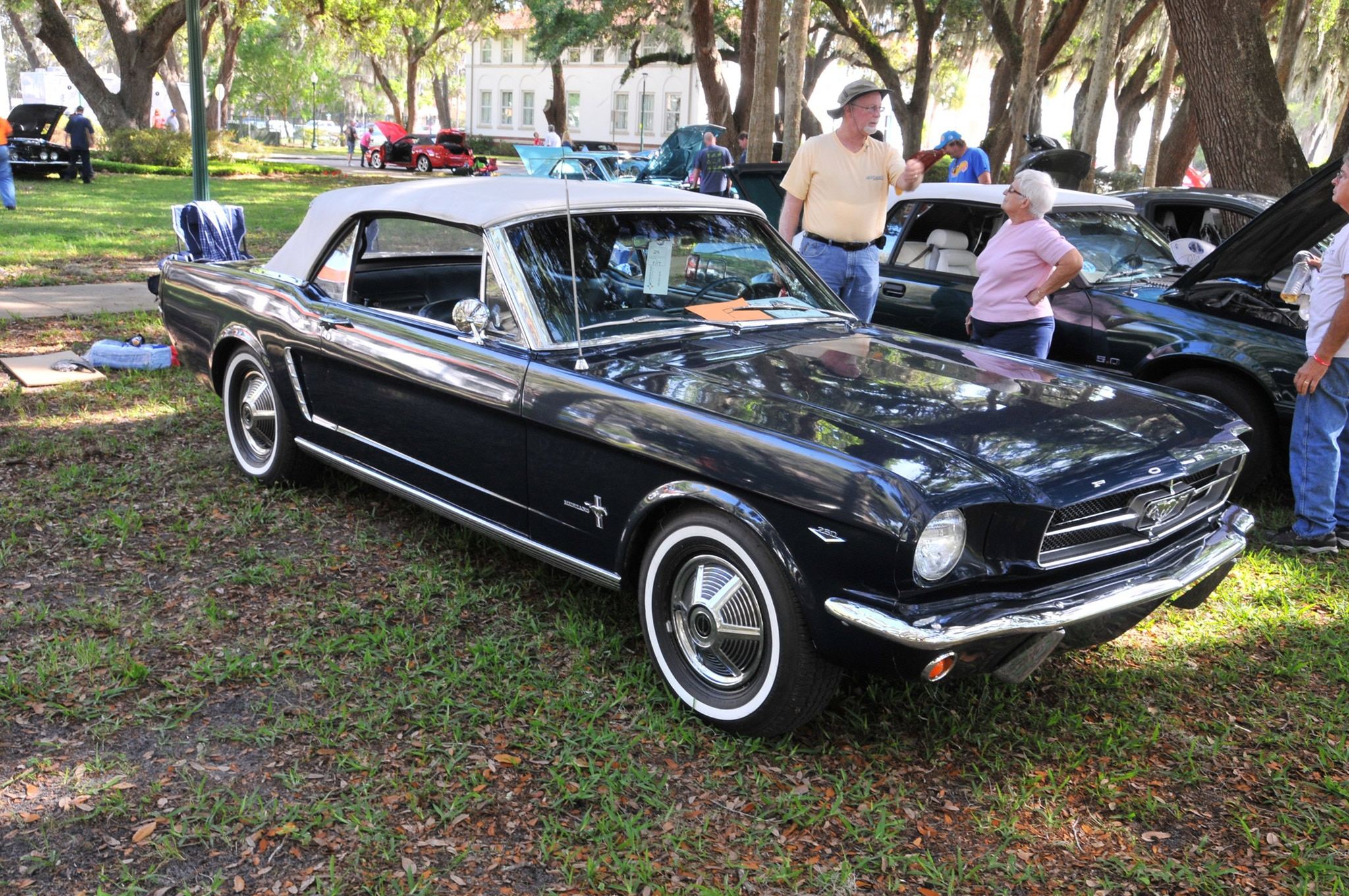 2016 Ancient City Mustang Show St Augustine 035