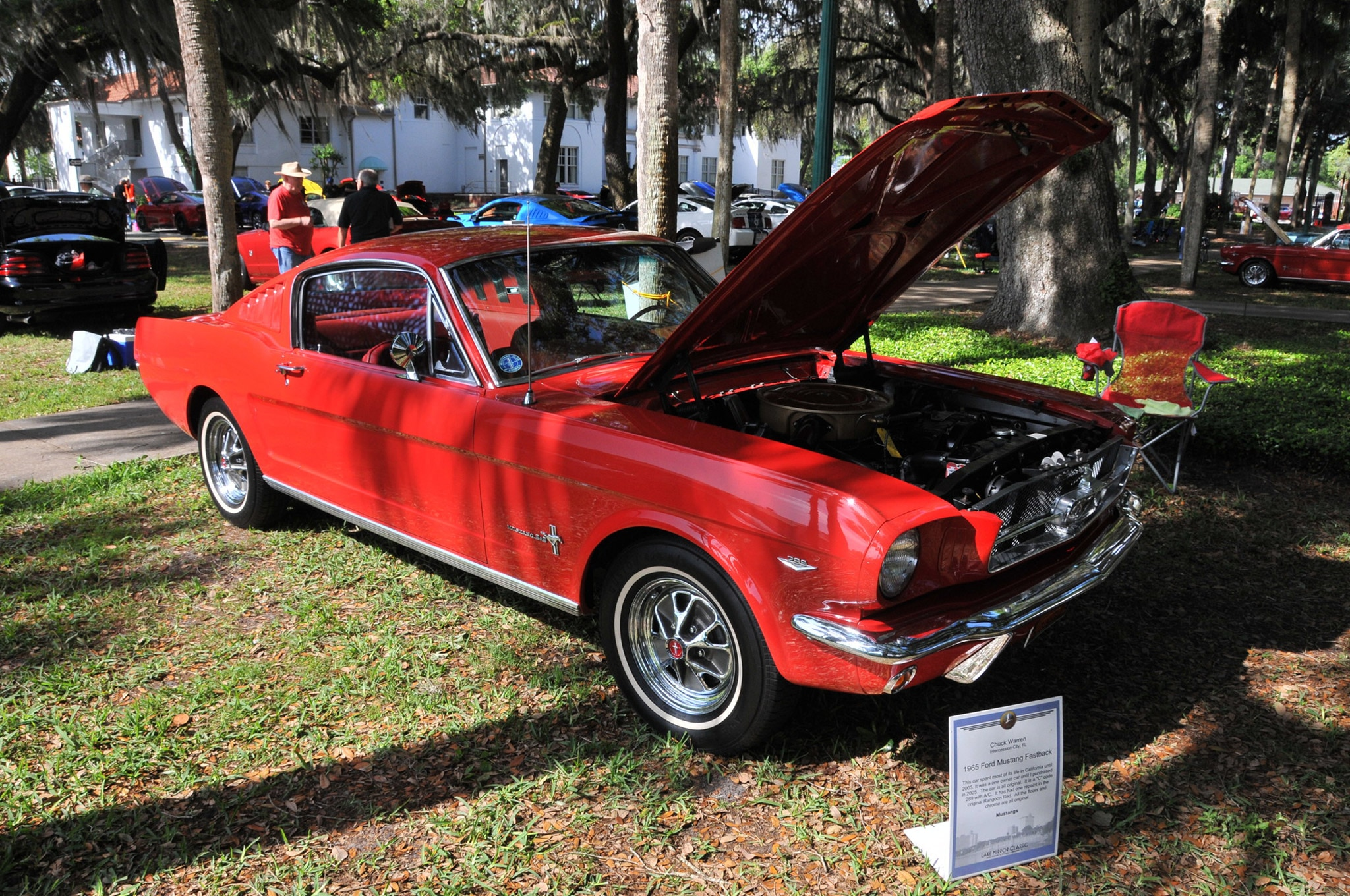 2016 Ancient City Mustang Show St Augustine 033