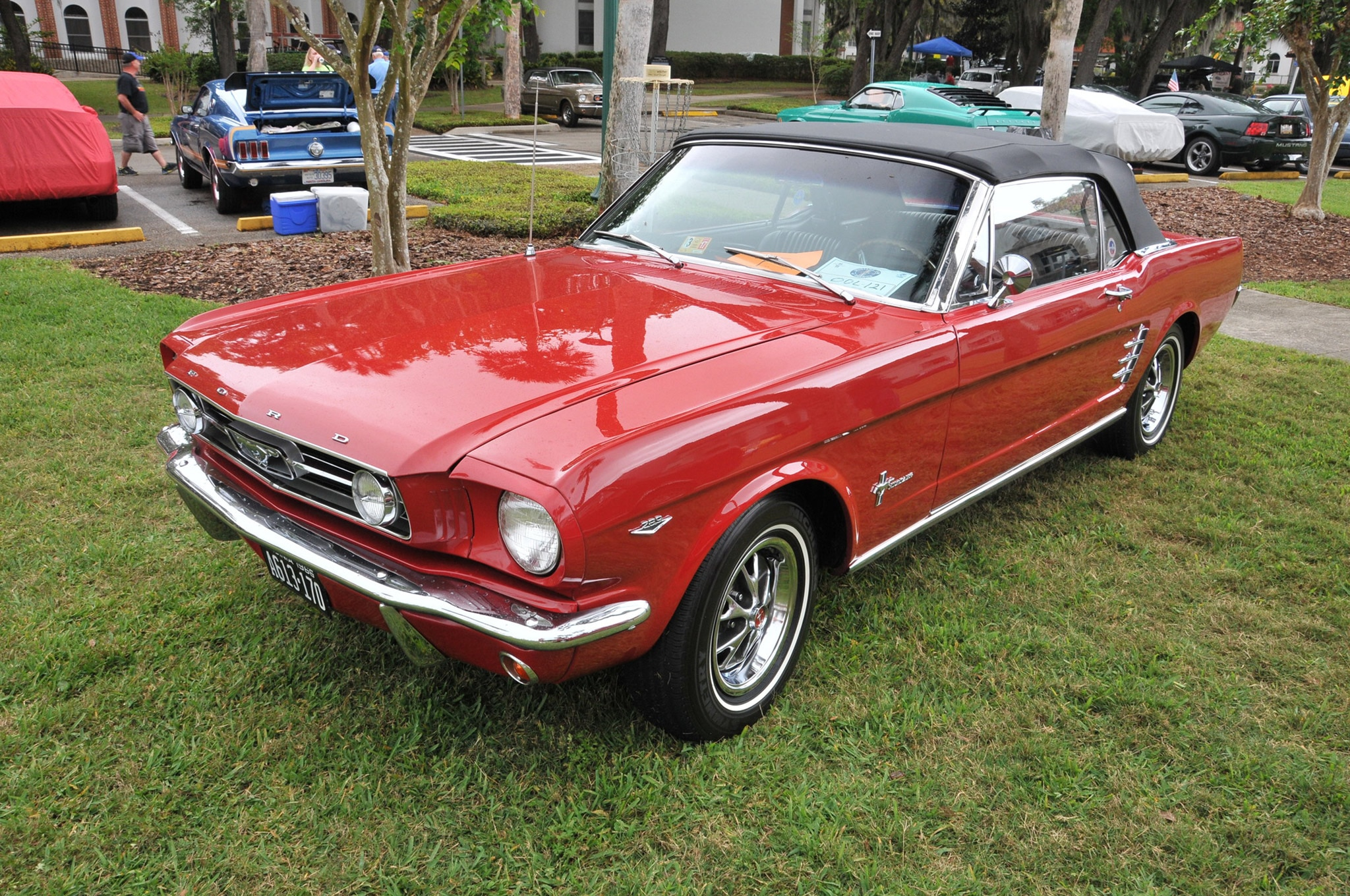 2016 Ancient City Mustang Show St Augustine 025