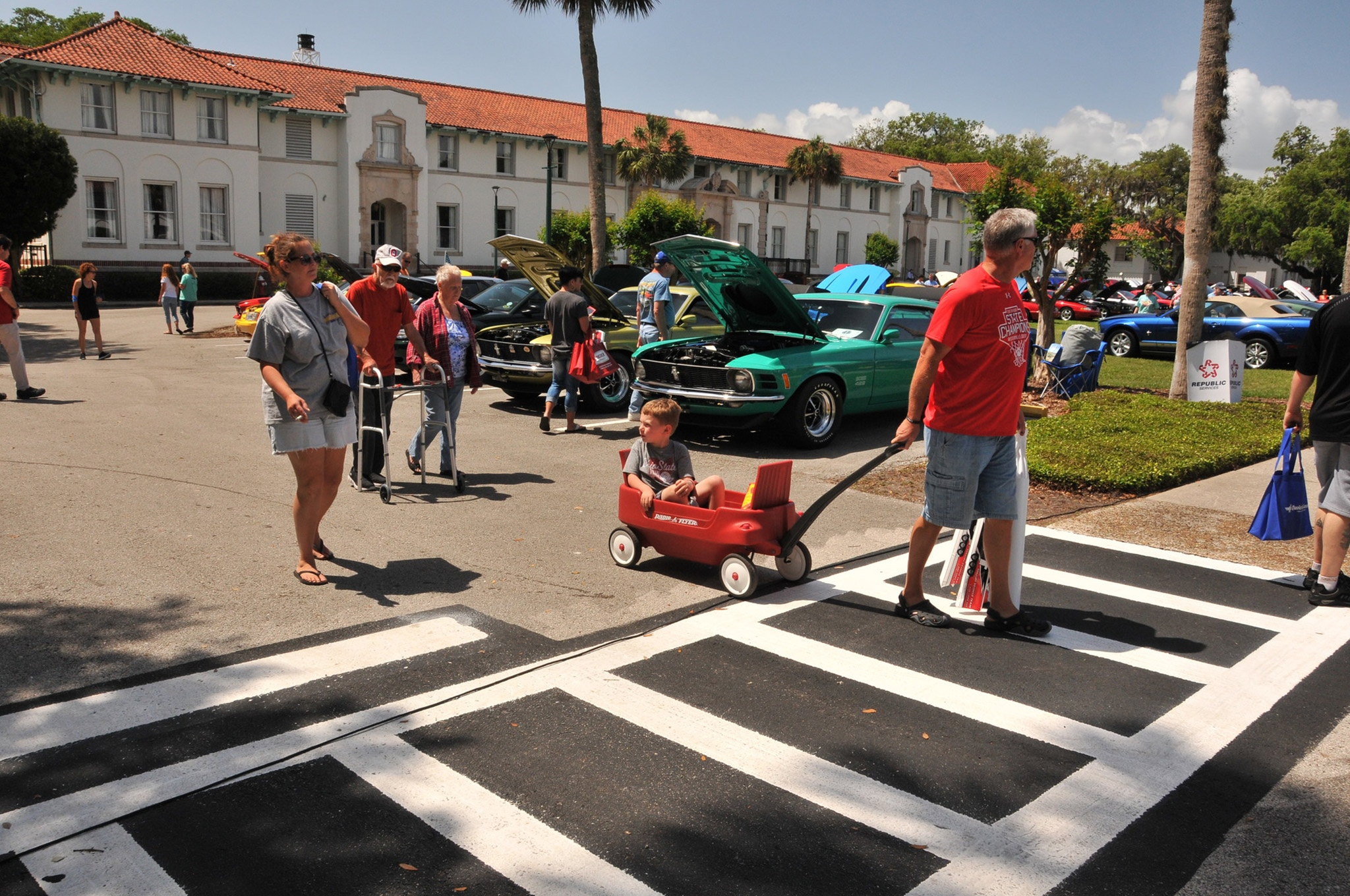 2016 Ancient City Mustang Show St Augustine 013