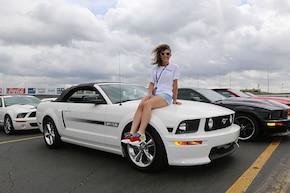 Mustang Girl Monday: 2009 California Special convertible
