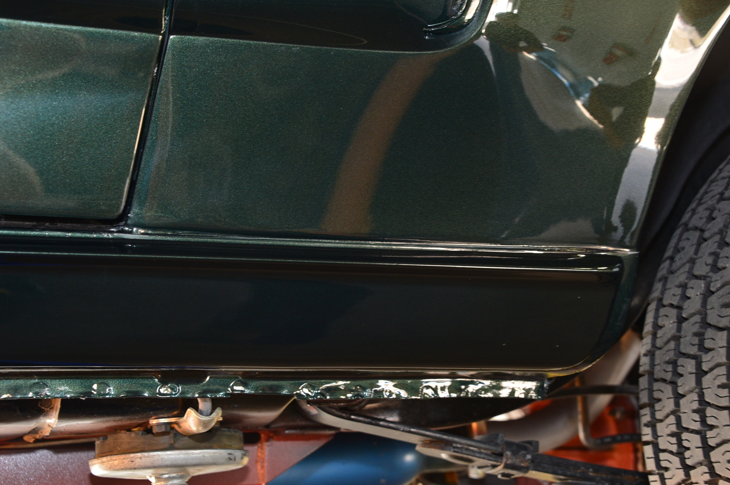 6 1968 Ford Mustang Rocker Panels