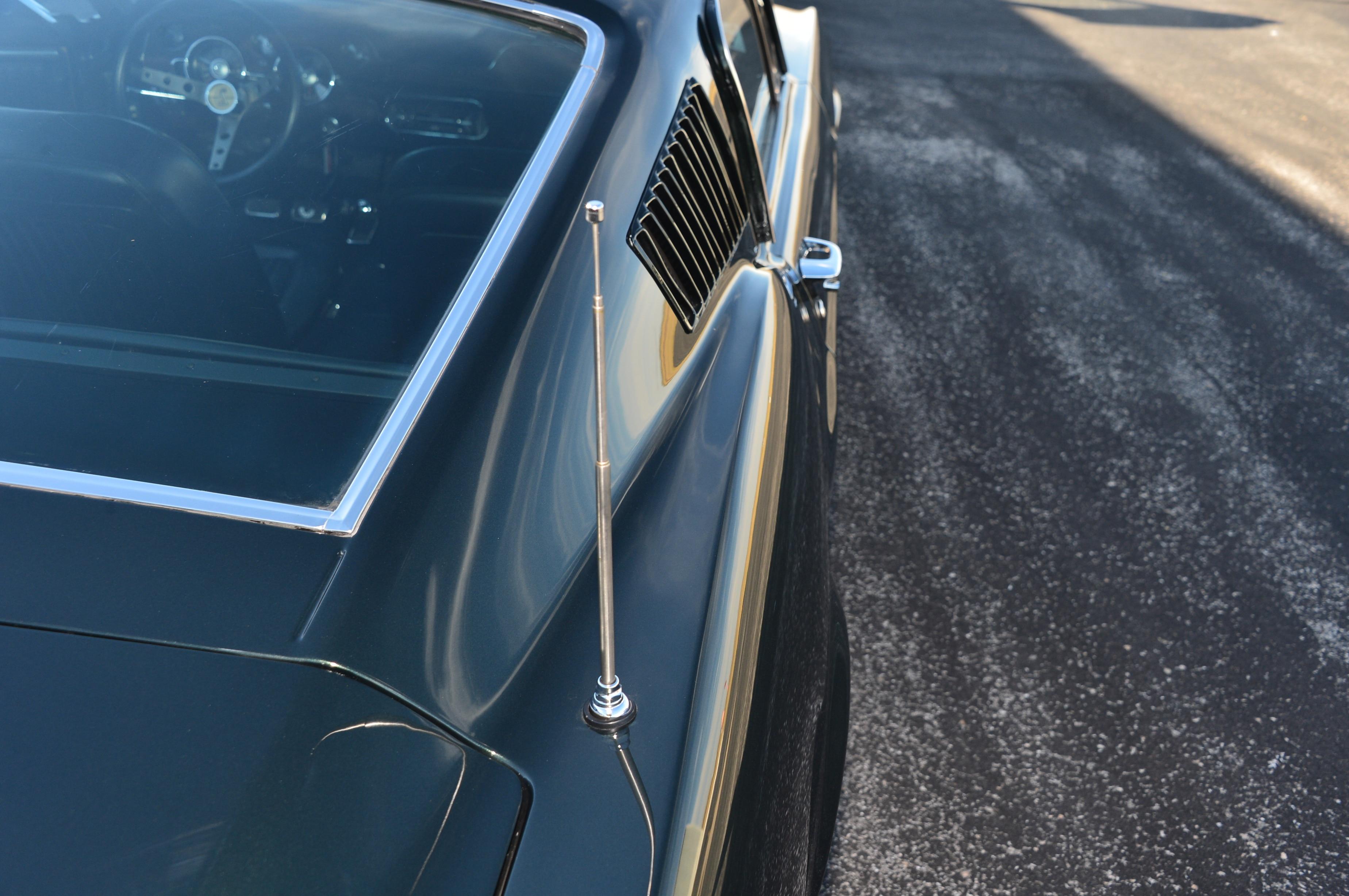 11 1968 Ford Mustang Bullitt Antenna