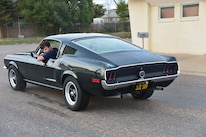 25 1968 Ford Mustang Rear View