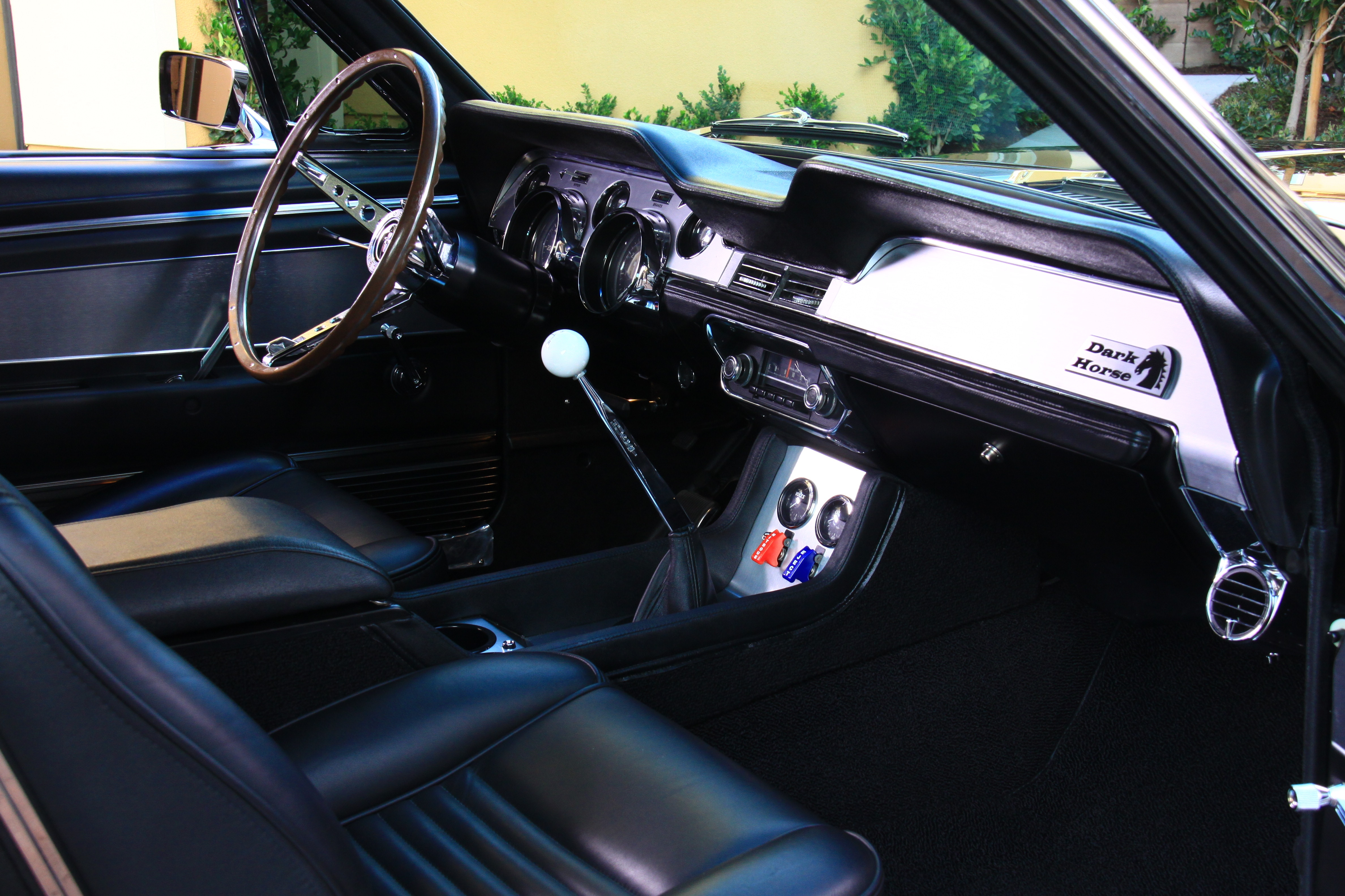 19 1967 Ford Mustang Interior