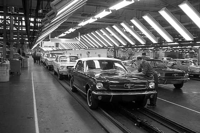 01 1964 Ford Dearborn Assembly Plant