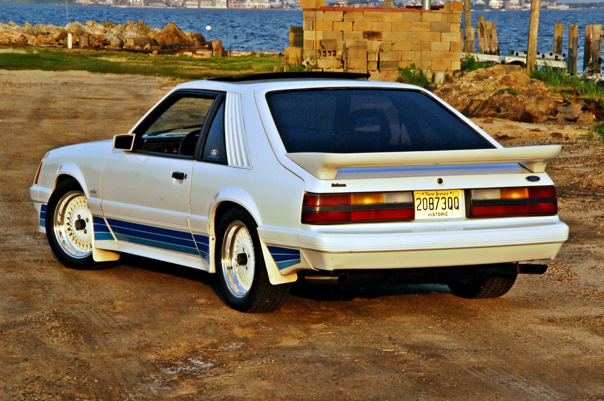 07 1985 Saleen Mustang Rear