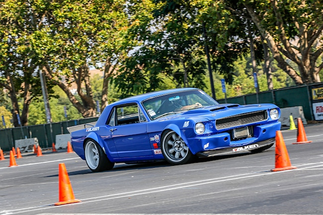 01 Goodguys Rod   Custom AutoCross 1966 Ford Mustang Right Front