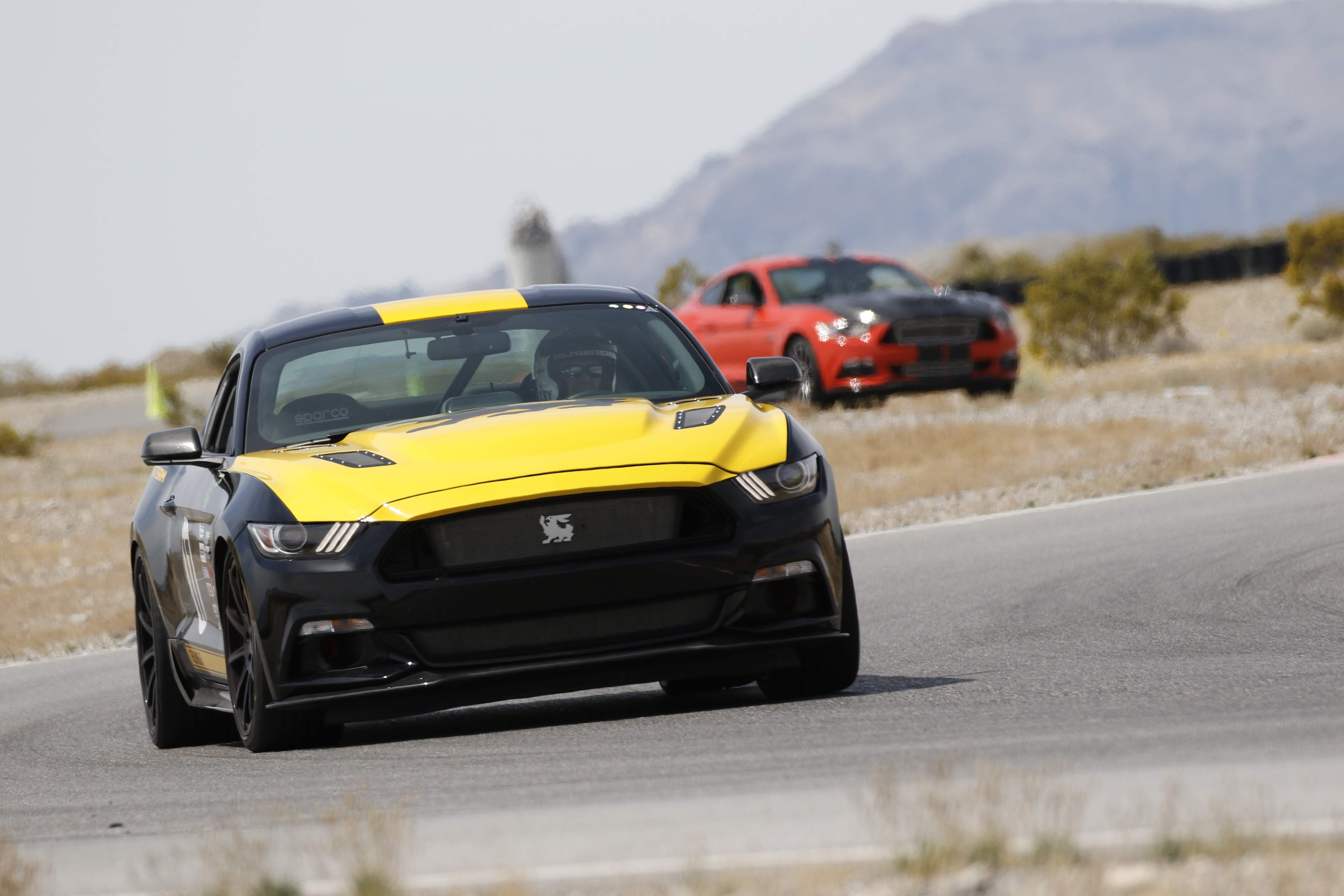 5 2016 Ford Mustang Front View Racing