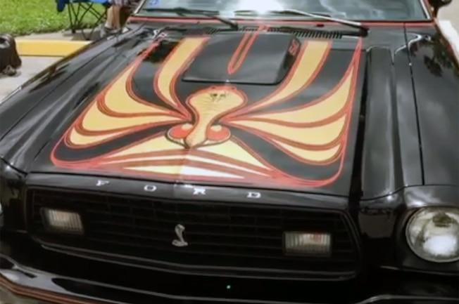 1978 Ford Mustang Ii King Cobra Painted Hood