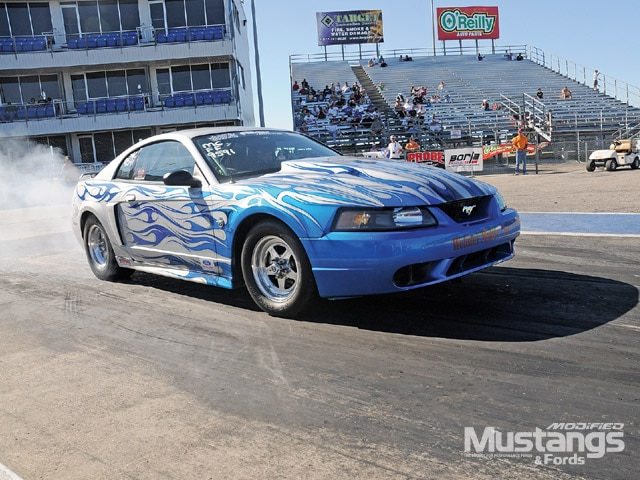 Shane Williams Ford Mustang Dragster