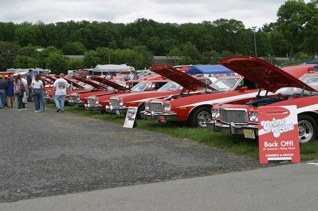 01 Ford Gran Torinos At Carlisle Ford Nationals