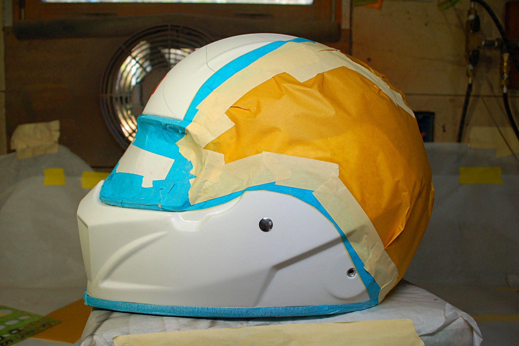 005 Racequip Helmet Masking Flag Design