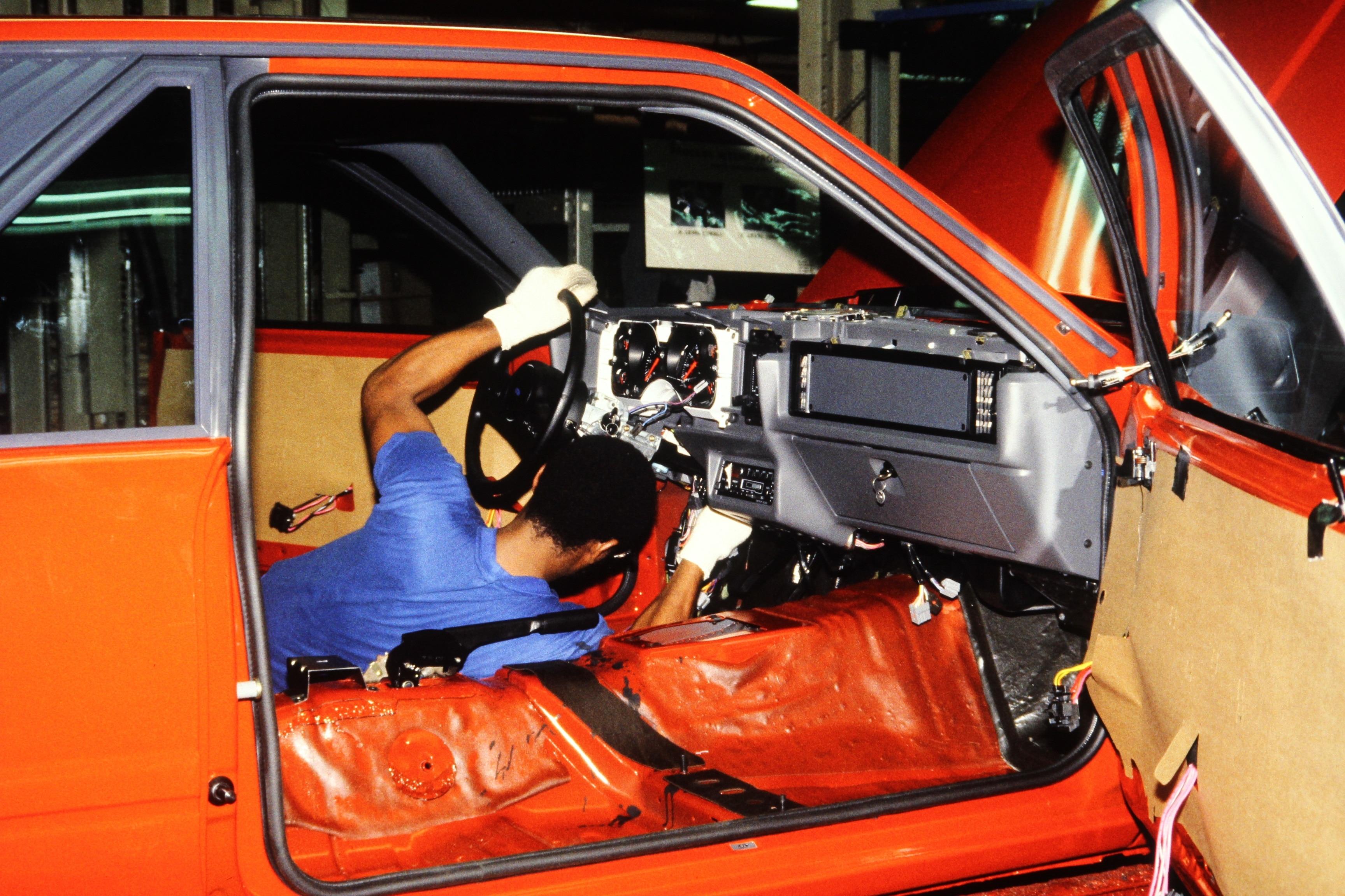 26 1986 Fox Mustang Interior