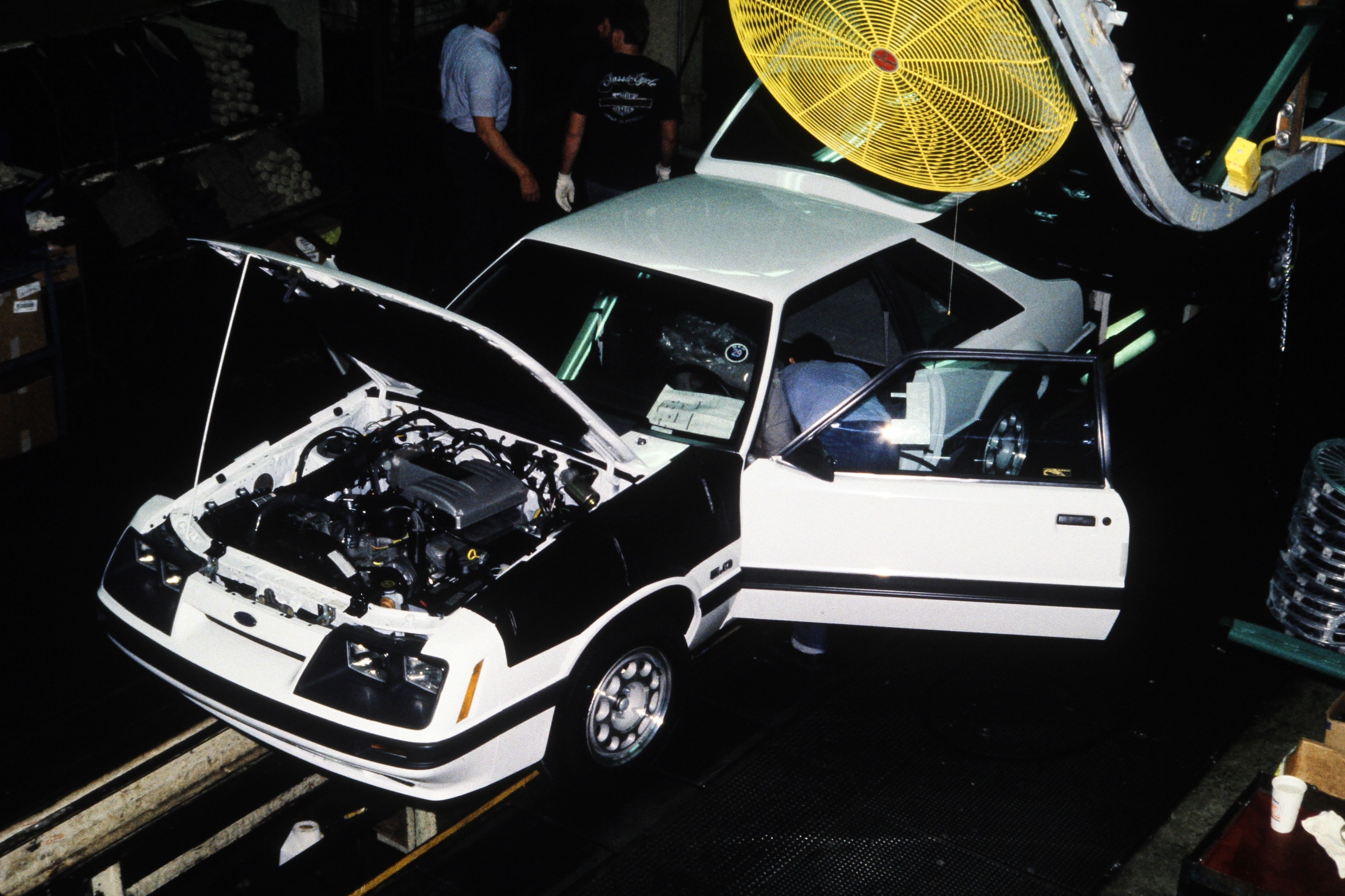 30 1986 Ford Fox Mustang