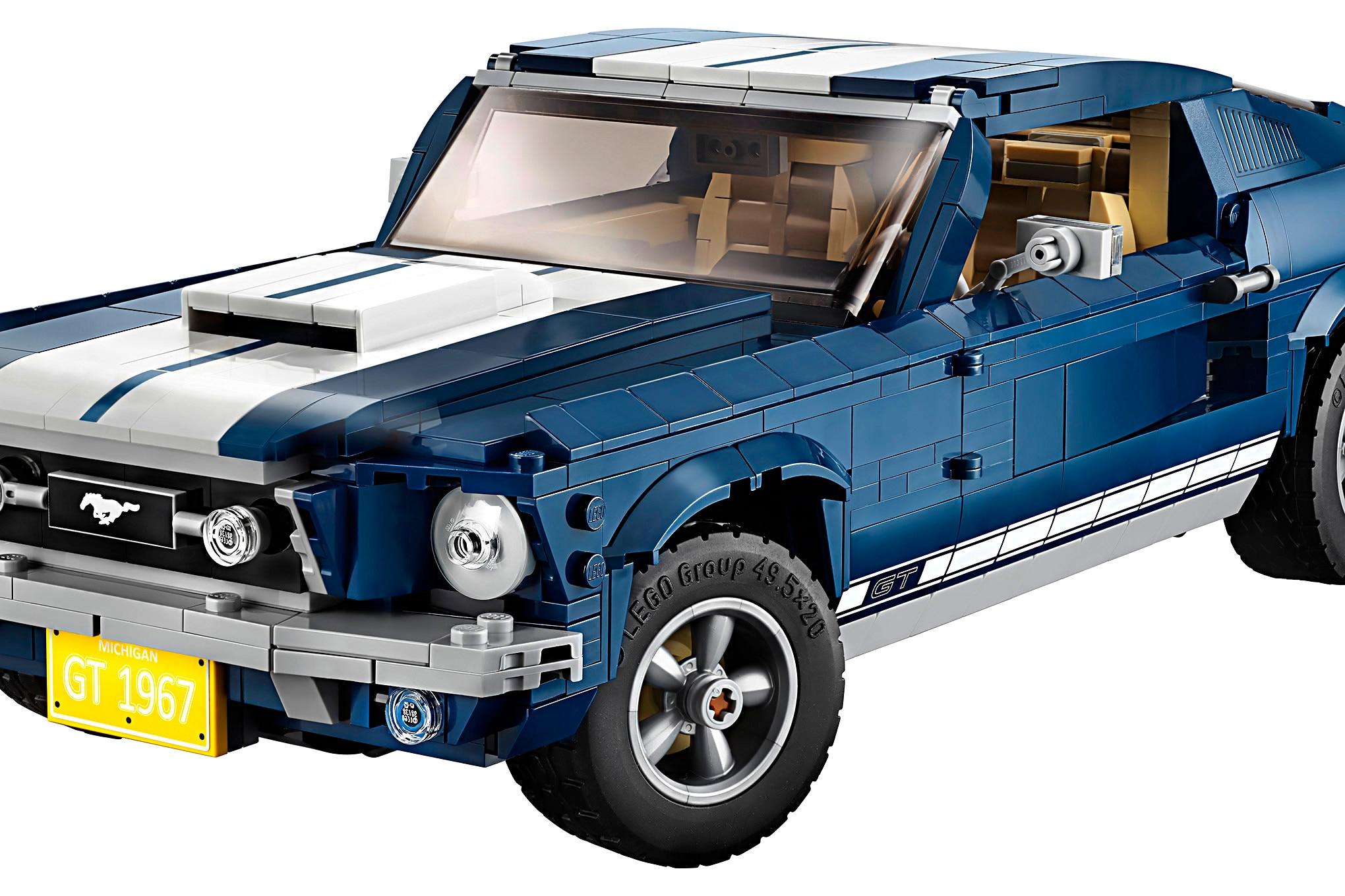 002 LEGO Creator 1967 Mustang Kit