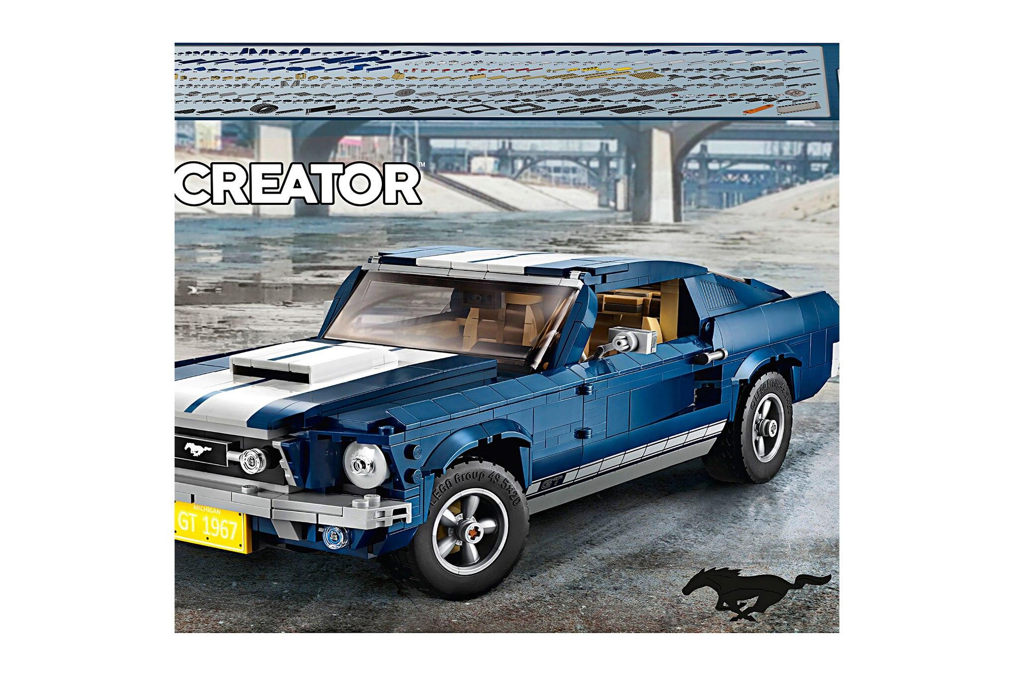 Lego Creator 1967 Mustang Kit Box4 V39